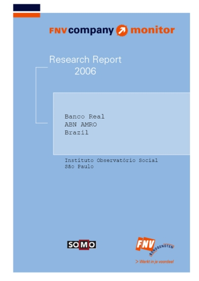 publication cover - FNV Company Monitor; ABN Amro Brazil