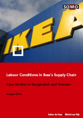 publication cover - Labour conditions in IKEA's Supply Chain