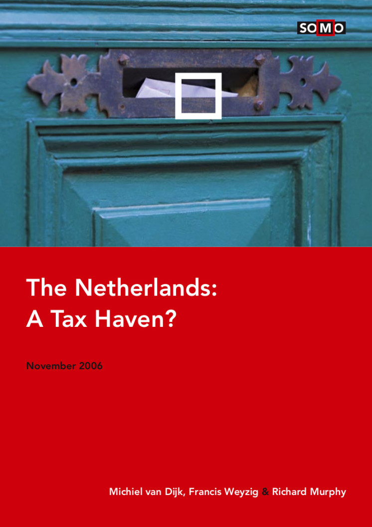 publication cover - The Netherlands: A tax haven?