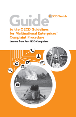 publication cover - Guide to the OECD guidelines for multinationals enterprises' complaint procedure