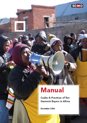 publication cover - Manual: Codes and Practices of five Garment Buyers in Africa