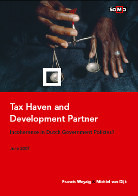 publication cover - Tax haven and development partner