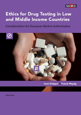 publication cover - Ethics for Drugs Testing in Low and Middle Income Countries