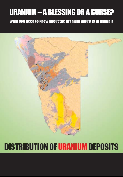 publication cover - Uranium – a blessing or a curse?