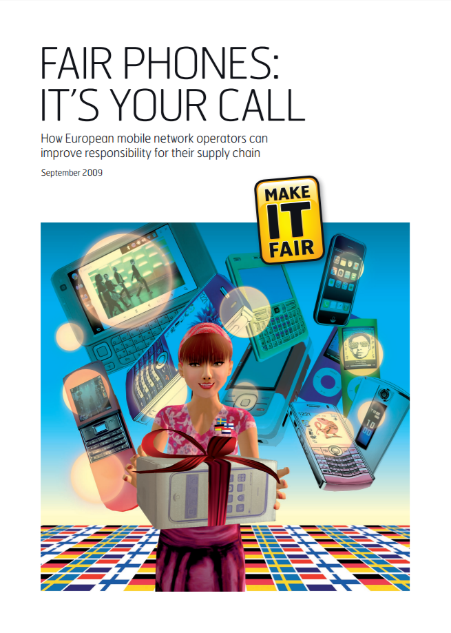 publication cover - Fair Phones: It's your call