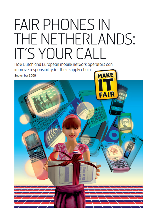 publication cover - Fair Phones in the Netherlands: It's your call
