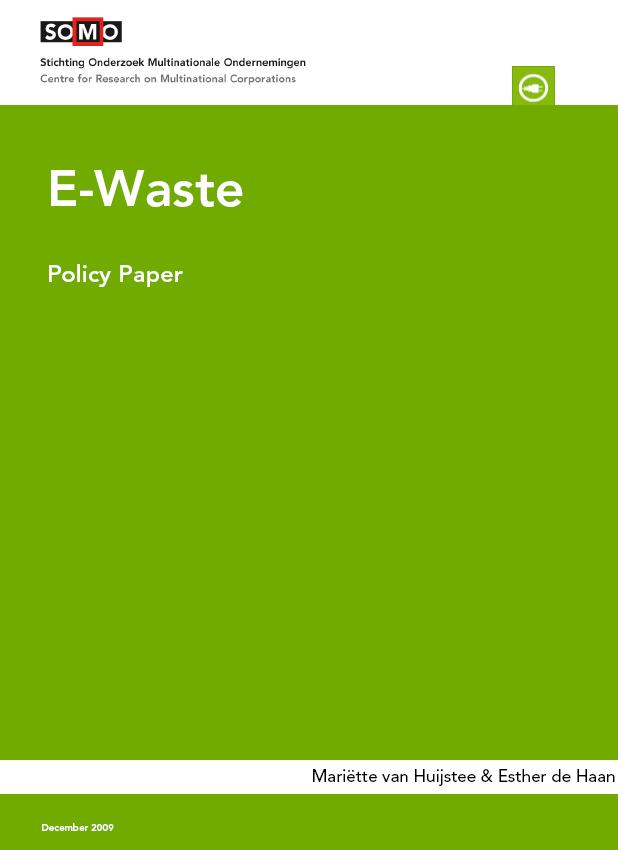 publication cover - E-Waste