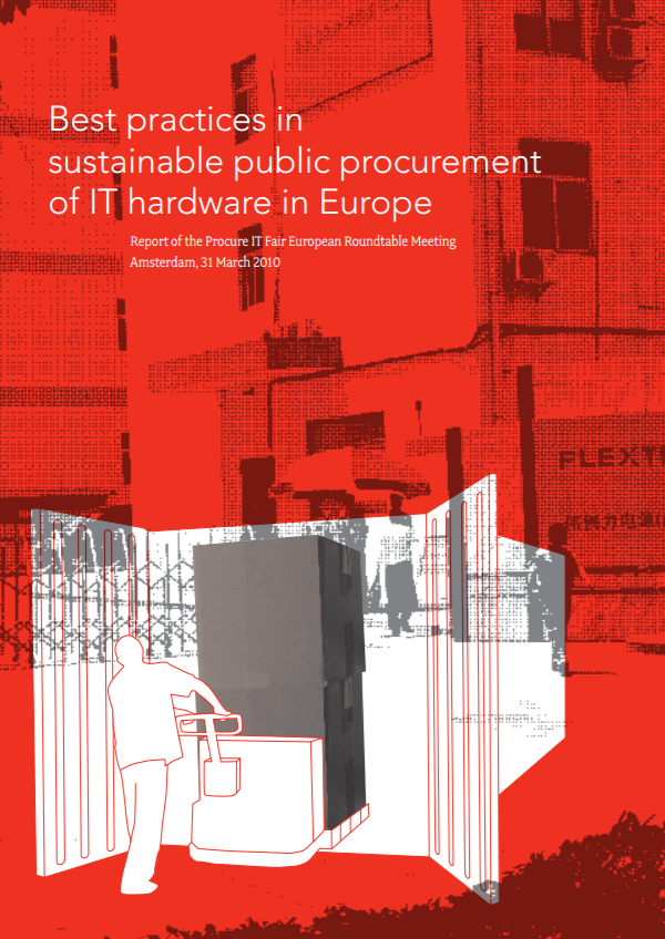 publication cover - Best practices in sustainable public procurement of IT hardware in Europe