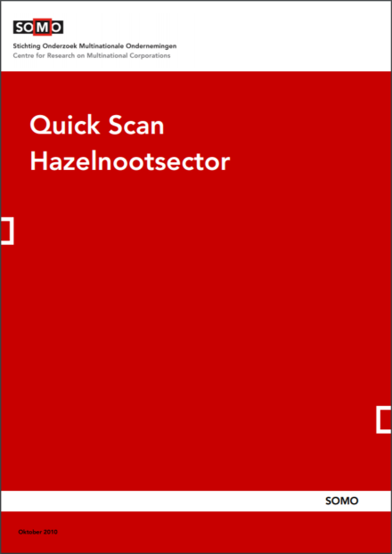 publication cover - Quick Scan Hazelnootsector