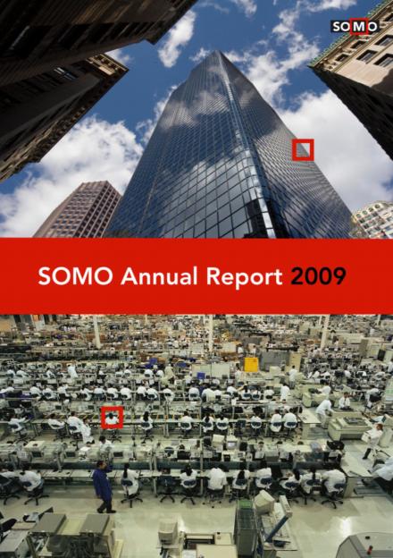 publication cover - SOMO – Annual Report 2009