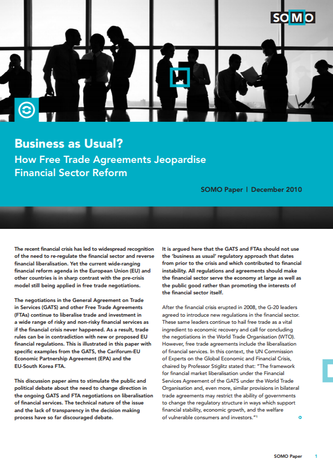 publication cover - Business as Usual
