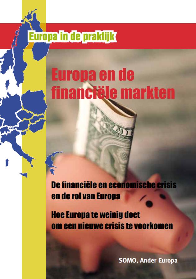 publication cover - Europa en de financiële markten