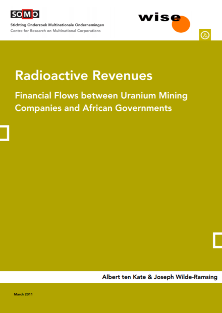publication cover - Radioactive Revenues