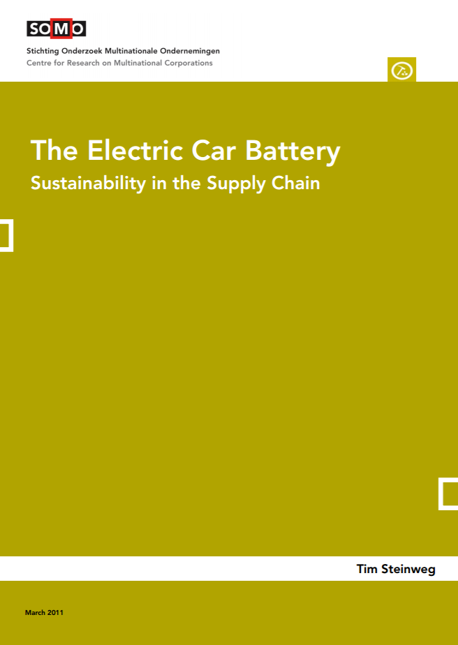 publication cover - The Electric Car Battery