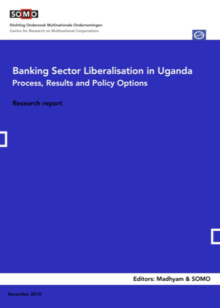 publication cover - Banking Sector Liberalisation in Uganda
