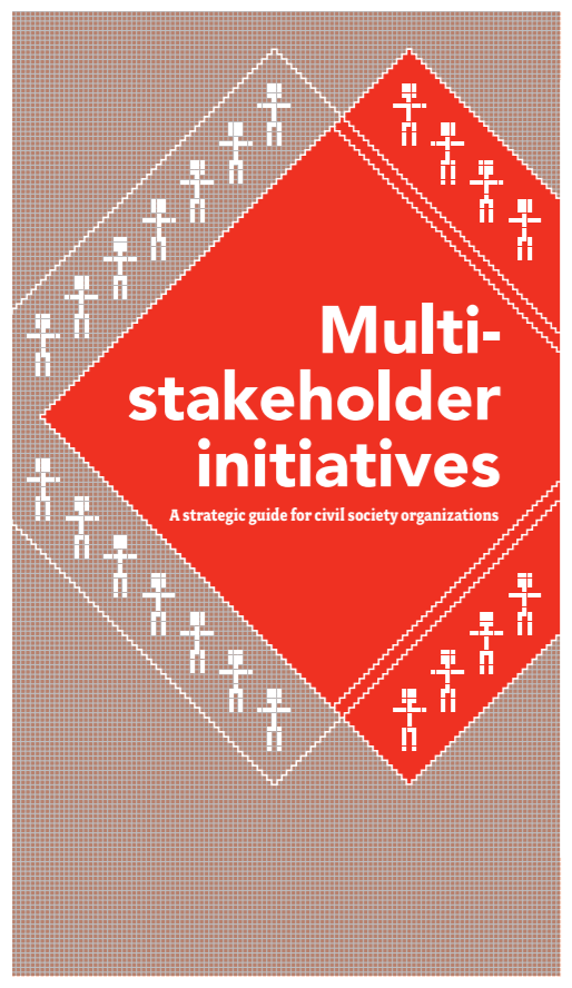 publication cover - Multi-stakeholder initiatives