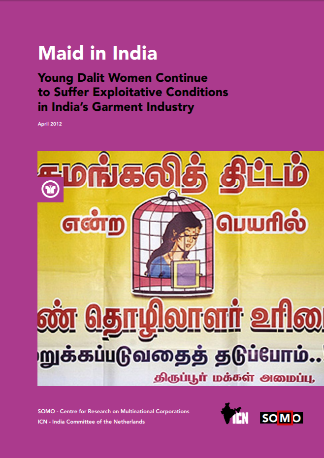 publication cover - Maid in India