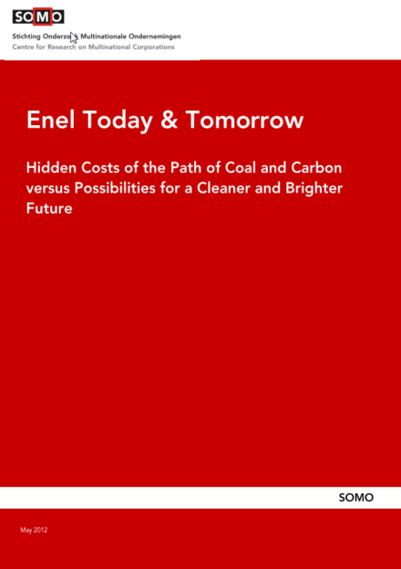 publication cover - Enel Today and Tomorrow