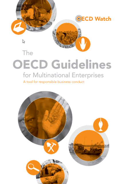 publication cover - OECD Watch brochure