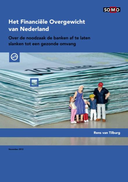 publication cover - Het Financiële Overgewicht van Nederland