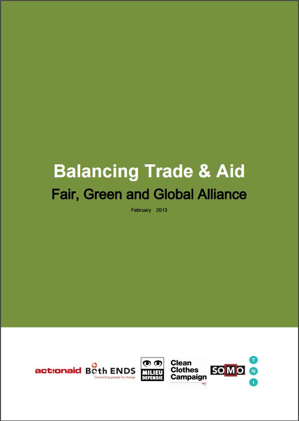 publication cover - Balanceren met Handel en Hulp