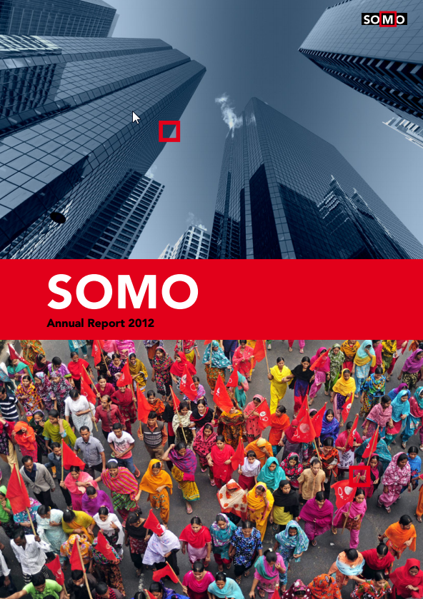 publication cover - SOMO – Annual Report 2012