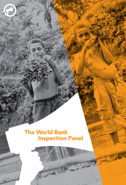 publication cover - The World Bank Inspection Panel