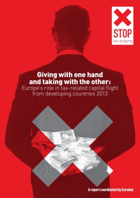 publication cover - Giving with one hand and taking with the other