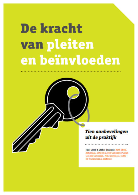 publication cover - De kracht van pleiten en beïnvloeden