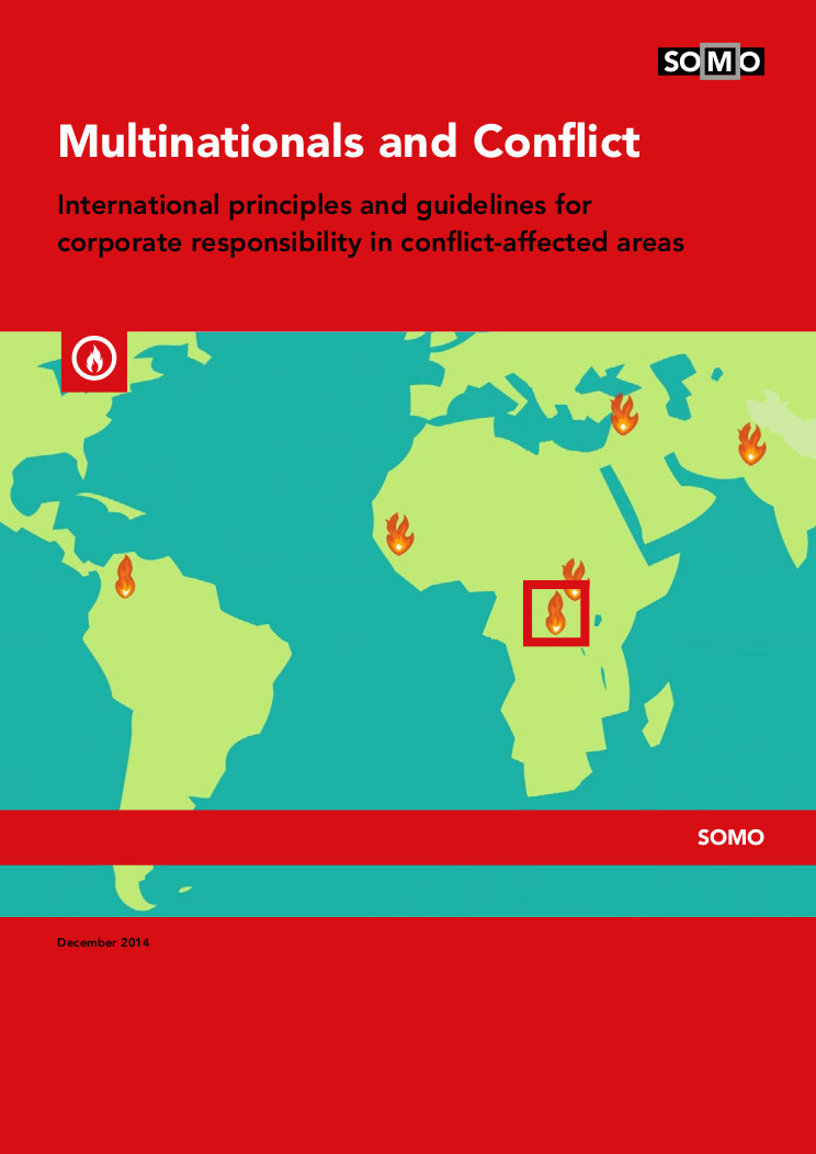 publication cover - Multinationals and Conflict