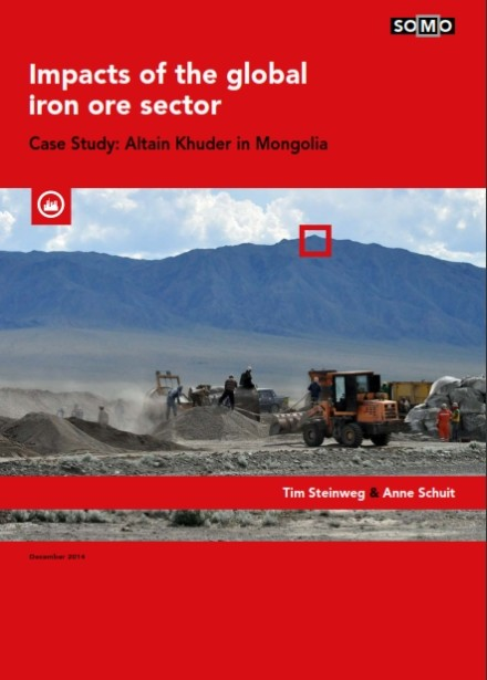 publication cover - Impacts of the global iron ore sector