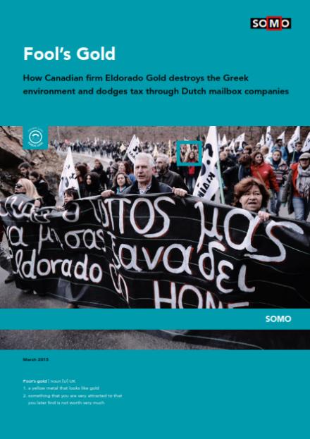 publication cover - Klatergoud (Eldorado Gold)