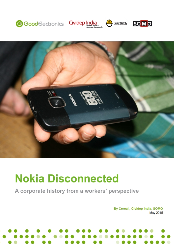 publication cover - Nokia Disconnected