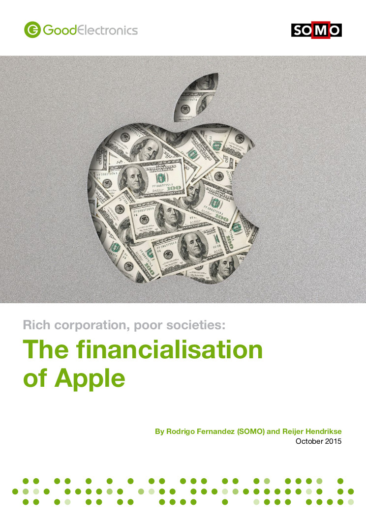 publication cover - Rich corporations, poor societies