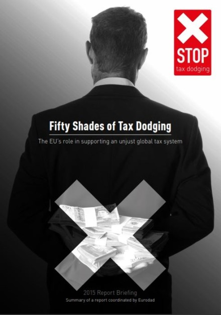 publication cover - Fifty shades of tax dodging