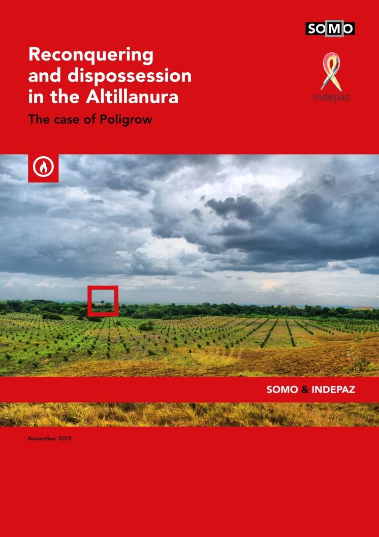 publication cover - Reconquering and dispossession in the Altillanura