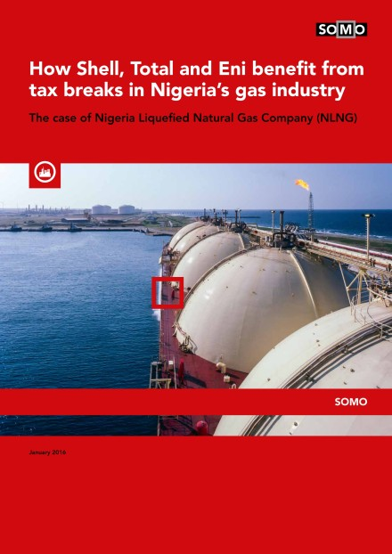publication cover - How Shell, Total and Eni benefit from tax breaks in Nigeria's gas industry