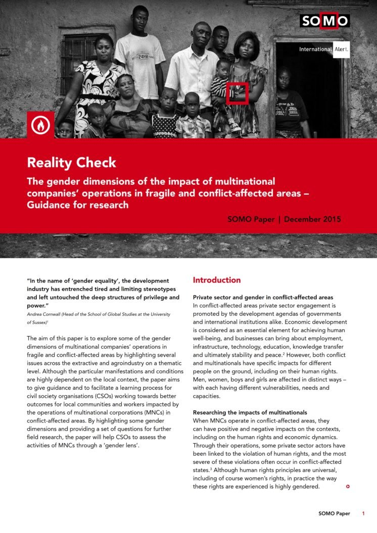 publication cover - Reality Check