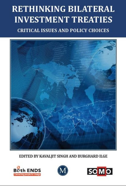 publication cover - Rethinking bilateral investment treaties