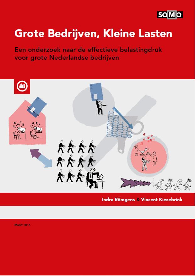 publication cover - Grote Bedrijven, Kleine Lasten