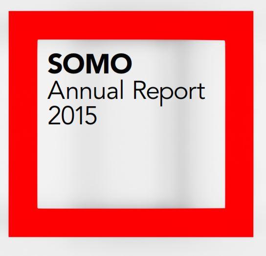 publication cover - SOMO – Annual Report 2015