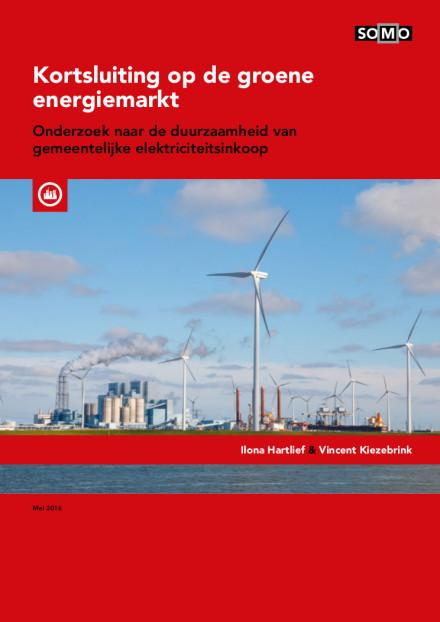 publication cover - Kortsluiting op de groene energiemarkt