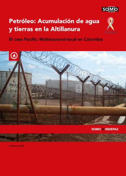 publication cover - Het vergaren van olie, water en land in de Altillanura