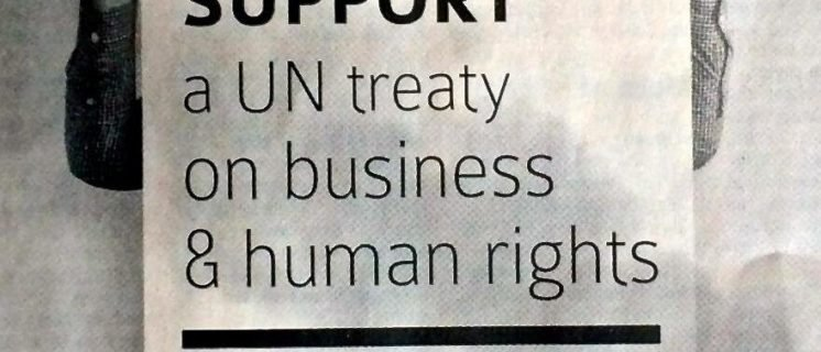 open dossier over Business & Human Rights Treaty