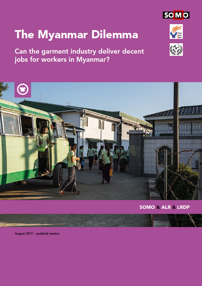 publication cover - Het Myanmar Dilemma
