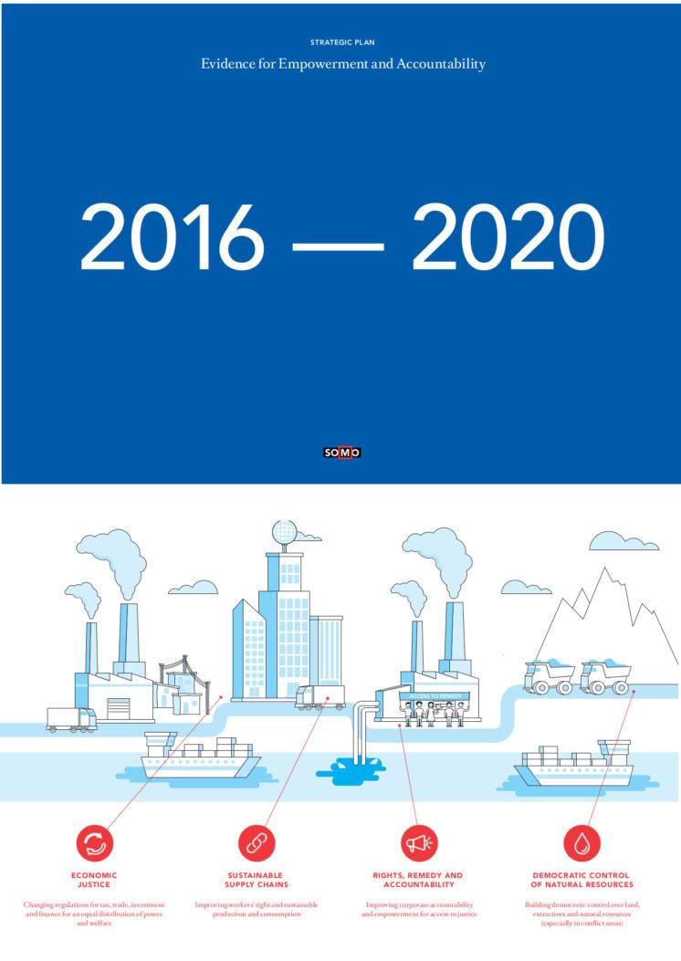 publication cover - SOMO Strategisch Plan 2016-2020
