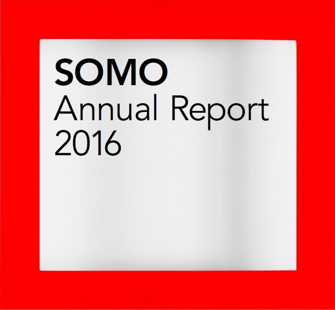 publication cover - SOMO – Annual Report 2016