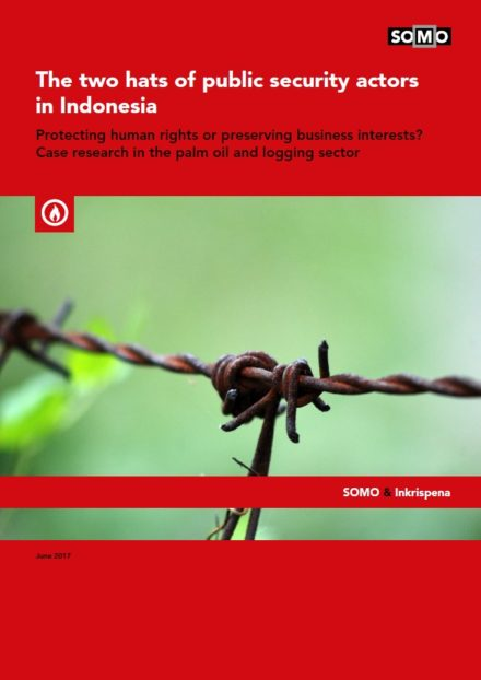 publication cover - De twee petten van publieke beveiligingsorganisaties in Indonesië