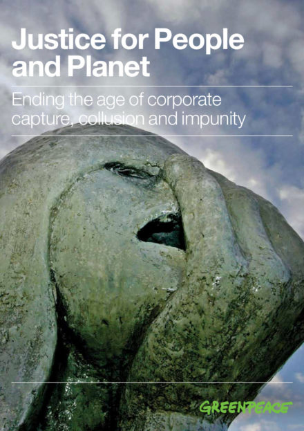 publication cover - Justice for People and Planet