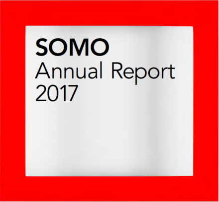 publication cover - SOMO – Jaarverslag 2017